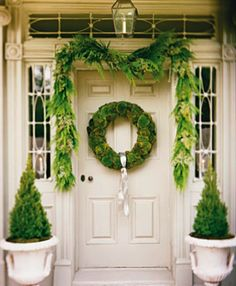 beautiful #Christmas greenery