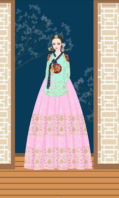 Korean Traditional, Traditional Fashion, Dong Yi, Korean Hanbok, Korean Beauty, Headdress, Korean Drama, Korean Fashion, Coloring Books