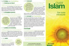 In een oogopslag weten wat de Islam inhoudt.