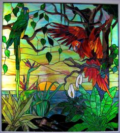 Minnesota Stained Glass, Naples Florida | Gaytee - Palmer Stained ...
