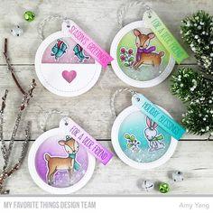 Stamps: Dashing Deer Die-namics: Tag Builder Blueprints 6, Dashing Deer Amy Yang #mftstamps