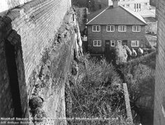 Long Stairs, Nottingham, 1975 Nottingham City Centre, Nottingham Lace, Old Pictures, Old Photos, Industrial Architecture, History Photos, Derbyshire, Historical Photos, Family History