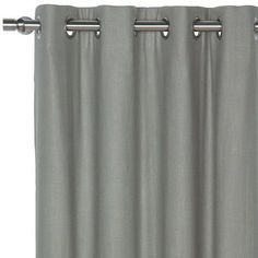 "Eastern Accents Breeze Pure Grommet Single Curtain Panel Size: 48"" W x 120"" L, Color: Slate"