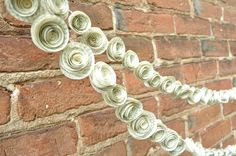 Wedding Garland Paper Flower  by lillesyster