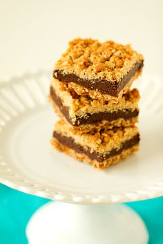 Oatmeal Fudge Bars.  Oatmeal's healthy, right?  These are practically diet food!