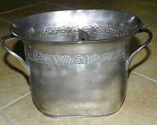 Newly Listed Pottery Barn Silver Plated Divided Wine Champagne Or Ice Bucket Cooler Product Compare Website Pro Wine Bucket Silver Ice Bucket Bucket Cooler