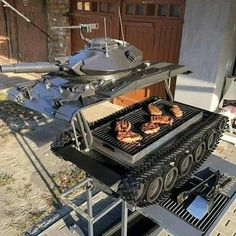 Bbq Ribs, Barbecue, Barrel Smoker, Dank Memes Funny, Metal Fire Pit, Fire Pits, Armored Fighting Vehicle, Rocket Stoves, Panzer