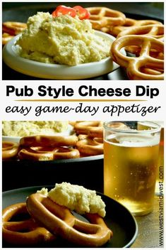 Hatch Chili Pub Style Cheese Dip is an easy appetizer that is great for parties, football game days or just as a snack. Spreadable cheeses with a slight kick, great for entertaining! #dip #tailgaiting #recipe #appetizers #creamcheesedip #partyrecipe #hat Appetizers For A Crowd, Recipes Appetizers And Snacks, Tailgating Recipes, Tailgate Food, Healthy Appetizers, Dip Recipes, Snack Recipes, Delicious Appetizers, Game Day Appetizers