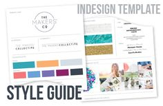 one page style guide template google search style guide