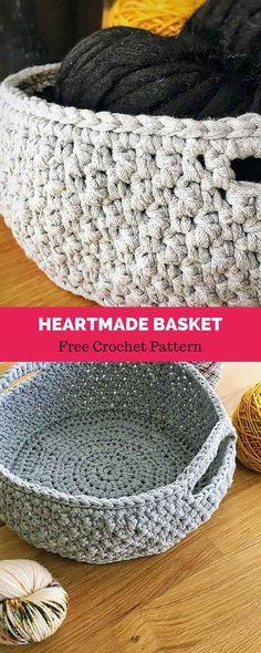 handmade crochet baskets #freecrochetpattern #freecrochet #crochet3 #easycrochet #patterncrochet #crochettricks #crochetitems #crocheton #thingstocrochet