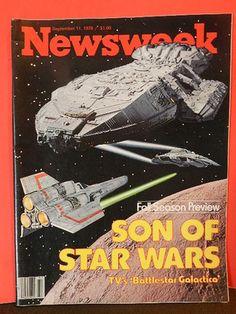 Newsweek Magazine September 11 1978 Son of Star Wars Battlestar Galactica | eBay