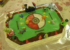 Amongst The Oaks: Pokemon Stadium Cake