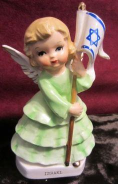 VINTAGE-ISRAEL-ANGEL-RARE
