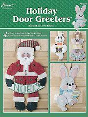 Needlework Plastic Canvas - Holiday Door Greeters - #A872231