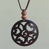Imagini pentru Coconut shell pendant
