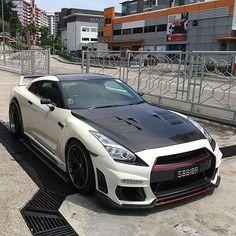 Tommy Kiara GT-R - Like it? - Nissan GT-R - Owner: please tag - Photo: - 2015 Nissan Gtr, Nissan Gtr Skyline, Nissan 370z, Tuner Cars, Jdm Cars, Gtr R35, Weird Cars, Crazy Cars, Fancy Cars