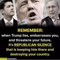 Truth. While Trump is a uniquely unfit bucket of poison, he is implementing tried and true Republican policies and appointments. The Right Wing is unhinged and bitter. Trump is the result of 40 years of home-schooling,...