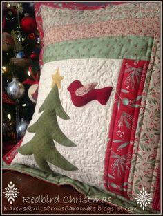 Karen's Quilts, Crows and Cardinals:
