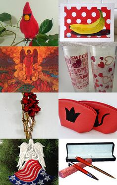 I See Red ! by Robin Hawthorne on Etsy--Pinned with TreasuryPin.com