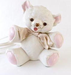 Teddy Bear Lamp Vintage Night Light