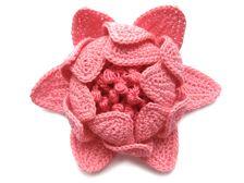 Crochet flower free pattern: http://www.mypicot.com/patterns/5010.pdf