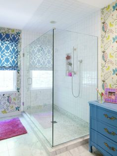 """Spa Style  - Girls' Bathroom Fit for a """"Tween"""" on HGTV"""