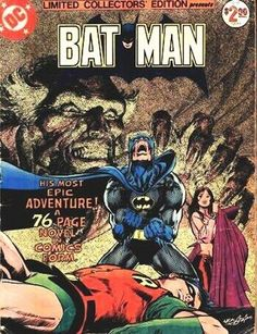 one of my top 10 favourite comic covers of all time, by Neal Adams