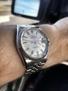 Rolex Datejust 1601 on a jubilee bracelet