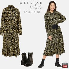 Weekly Outfits, Weekend Vibes, Dresses With Sleeves, Long Sleeve, Fashion, Moda, Sleeve Dresses, Long Dress Patterns, Fashion Styles