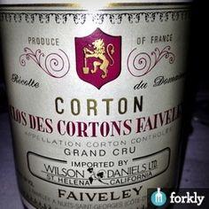 1999 Domaine Faiveley Corton Clos Des Cortons Faiveley Monopole Gran Cru
