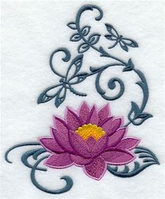 Machine Embroidery Designs at Embroidery Library! - Bird and Butterfly Echoes