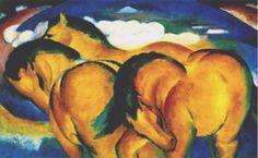 Franz Marc, Yellow Horses