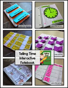 What's Included: *Explanation of my interactive math notebooks *Photos of each page of my time unit in their notebooks *Clock Basics *Telling time to the hour and half hour *Telling time to 5 minute intervals *Quarter after, half past, and quarter to *Analog vs. Digital Clocks *Elapsed time through the use of story problems