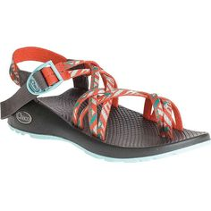 Chaco Women's ZX/2 Classic Sandal ($105) ❤ liked on Polyvore featuring shoes, sandals, tunnel tango, chaco sandals, antimicrobial shoes, chaco shoes, lock shoes and chaco footwear