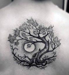 Tattoo Life, Wild Tattoo, Trendy Tattoos, Tattoos For Guys, Tattoos For Women, Cool Tattoos, Tree Tattoo Designs, Design Tattoo, Tattoo Dotwork