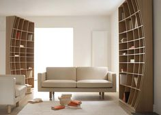 With people resorting more and more to searching on their computers, laptops, and ipads, the roll of the bookshelf has transformed from a utilitarian piece of furniture to one...