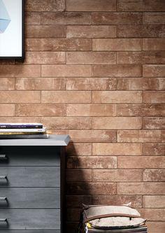 Manhattan Rustic Red Brick Effect Tiles Retro Rustic Pinterest