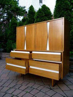 Interior design | decoration | home decor | furniture | Mid Century Modern dresser