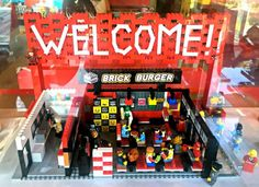 Al Brick Burger i mattoncini Lego si mangiano