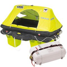 Liferaft 4 Person Container Offshore Pack - if you are on the ocean you need one