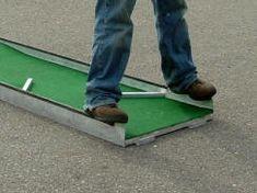 portable mini golf course miniature putt putt manufacturer mobile for sale aluminum 3