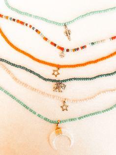 Cute Jewelry, Diy Jewelry, Beaded Jewelry, Jewelry Accessories, Beaded Necklace, Jewelry Making, Beaded Bracelets, Necklaces, Jewlery