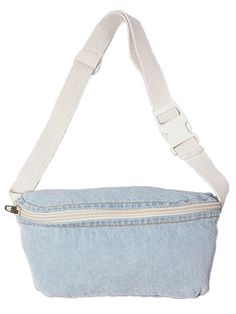 Charcoal Teepee Flat Zipper Fanny Pack Hip Pouch Waist Bag Festival Bag