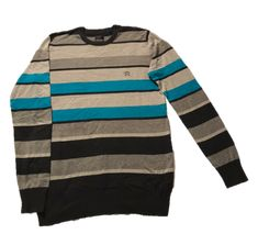 Sweater Much More Rayado Talla L: Sweater marcaMuch More rayado cuello redondo Nyc, Pullover, Sweaters, Fashion, Babydoll Sheep, Blue Line, Crew Neck, Sweater Vests, Shirts