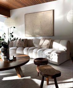 Home Living Room, Living Room Designs, Living Room Decor, Living Spaces, Interior Desing, Room Interior, Decoration Design, Beautiful Living Rooms, Home Decor Inspiration