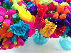 Get ready for Cinco De Mayo, taco Tuesday, or your at home fiesta with these creative decorating ideas that are perfect for your next party. Paper Mache Flowers, Mexican Paper Flowers, Mexican Babies, Pop Up Dinner, Mexican Fiesta Party, Fiesta Decorations, Barbie, Paper Crafts, Diy Crafts