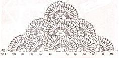 Materiales gráficos Gaby: 5 Mantones en crochet