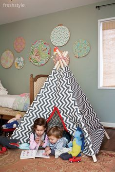 Craft a Tepee for the Kiddos: Fun Afternoon Project - Fresh Style Magazine