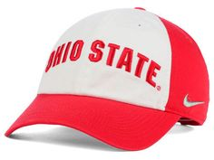 new arrivals a7bb9 1b408 Ohio State Buckeyes Nike NCAA Heritage86 Wordmark Hat NWT  Nike   OhioStateBuckeyes