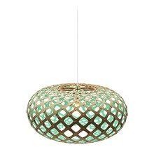 Spisebordslampe... Kina Aqua pendel